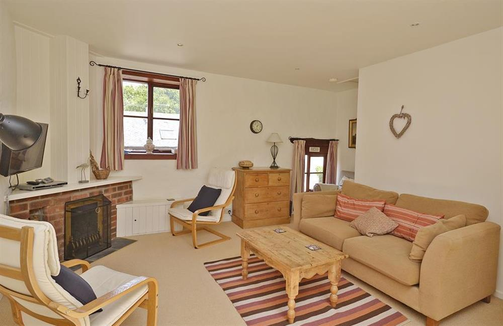 The comfortable sitting room at Blackberry at Blackberry Cottage, Slapton