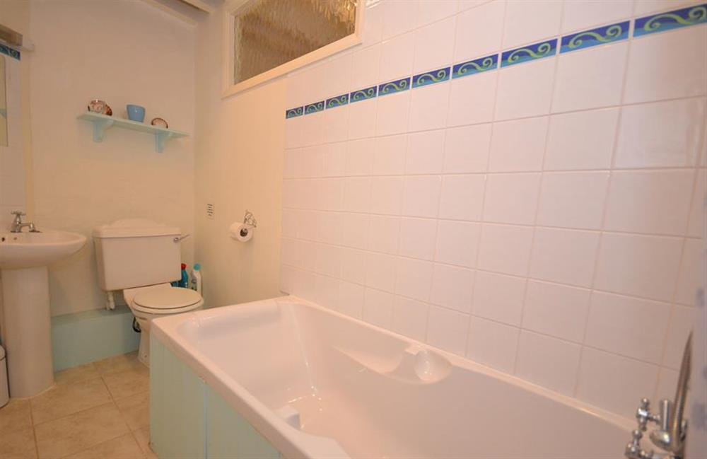The ground floor bathroom at Blackberry Cottage, Slapton