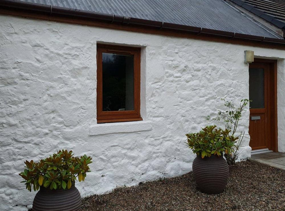 Exterior at Blackmill Cottages No 2 in Taynuilt, near Oban, Argyll