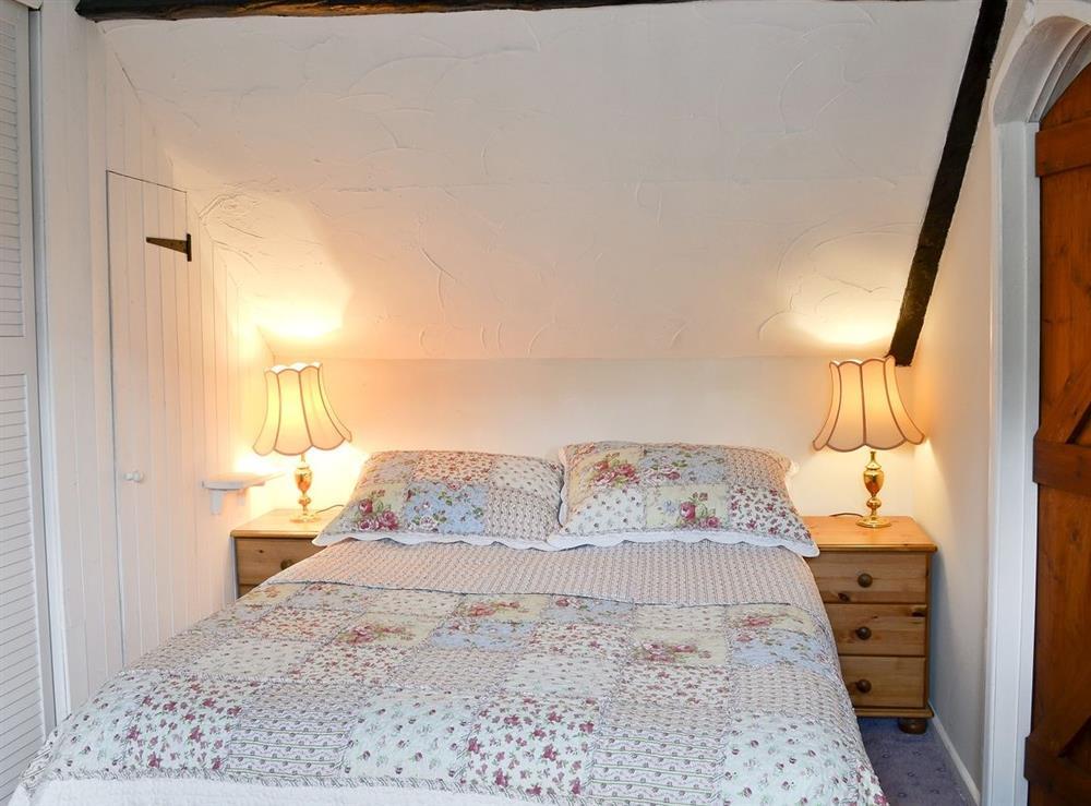 Double bedroom at Blacksmiths Cottage in Lound, near Gorleston, Suffolk