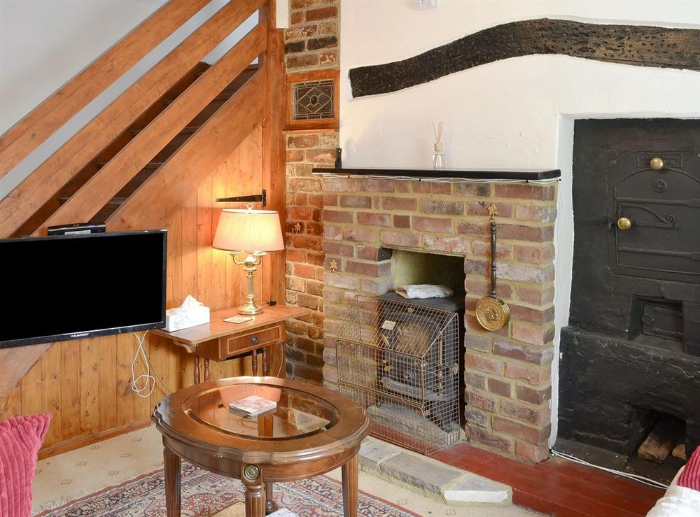 Living room at Blacksmiths Cottage in Lound, near Gorleston, Suffolk