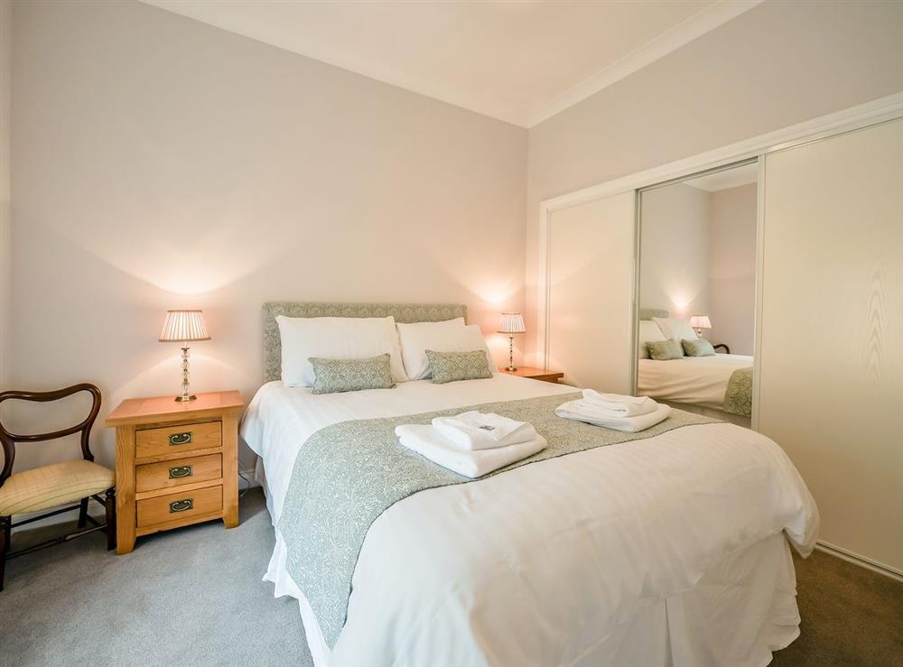 Double bedroom at Cunninghame Cottage,