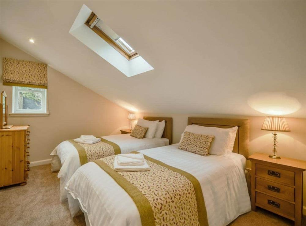 Twin bedroom at Cunninghame Cottage,