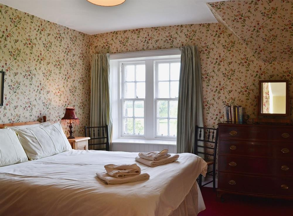 Double bedroom at Farrer Cottage,