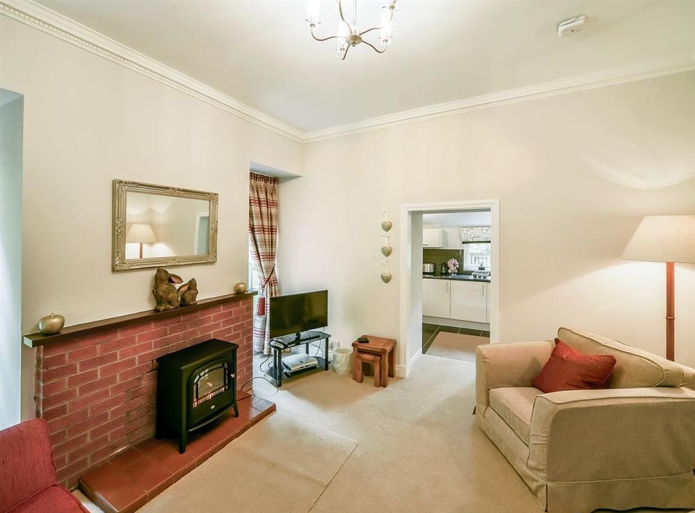Living room at Gardens Cottage,