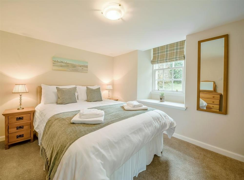 Double bedroom at McDowall Cottage,