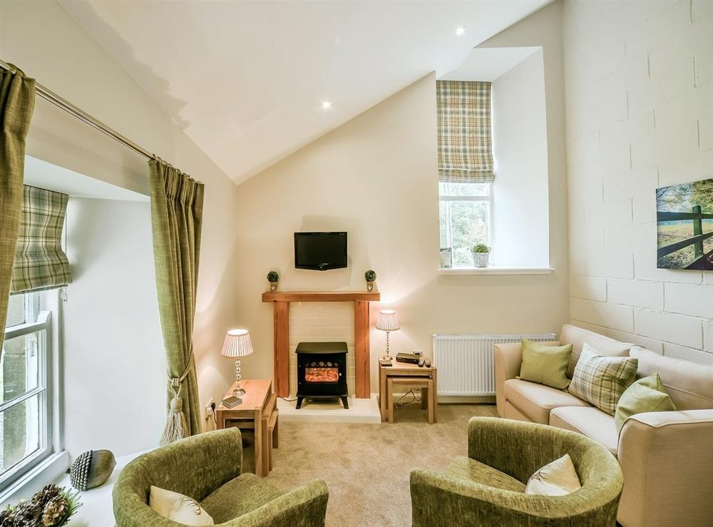 Open plan living/dining room/kitchen at McDowall Cottage,