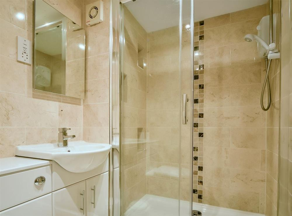 Shower room at McDowall Cottage,