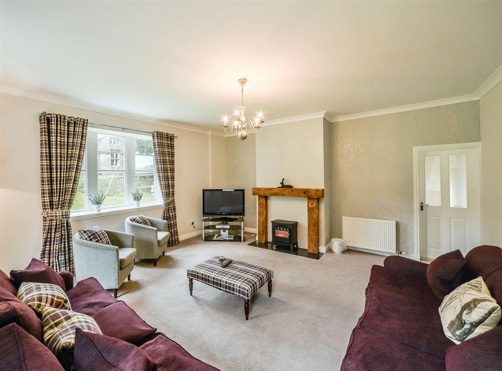 Living room at McKenzie Cottage,