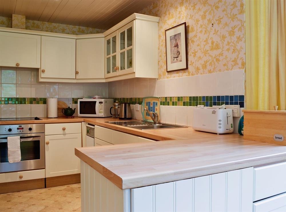 Kitchen at Wauchope Cottage,