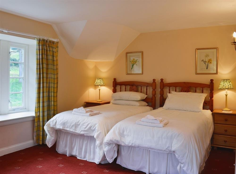 Twin bedroom at Wauchope Cottage,