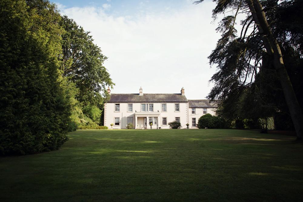 The garden at Blaithwaite House, at Blaithwaite Estate in Waverton, near Wigton, Cumbria