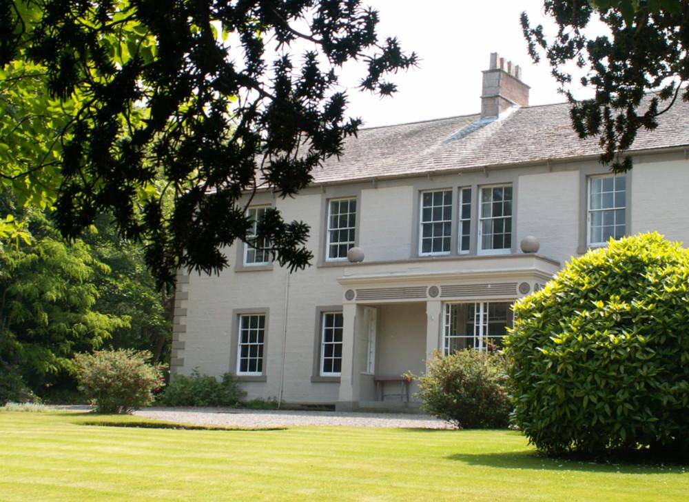 Blaithwaite House and gardens at Blaithwaite Estate