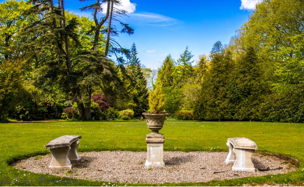 The grounds at Blaithwaite House, Blaithwaite Estate in Waverton, near Wigton, Cumbria