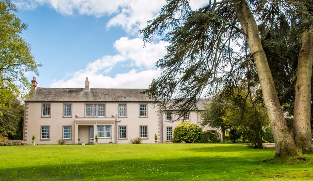 The house at Blaithwaite House, Blaithwaite Estate in Waverton, near Wigton, Cumbria