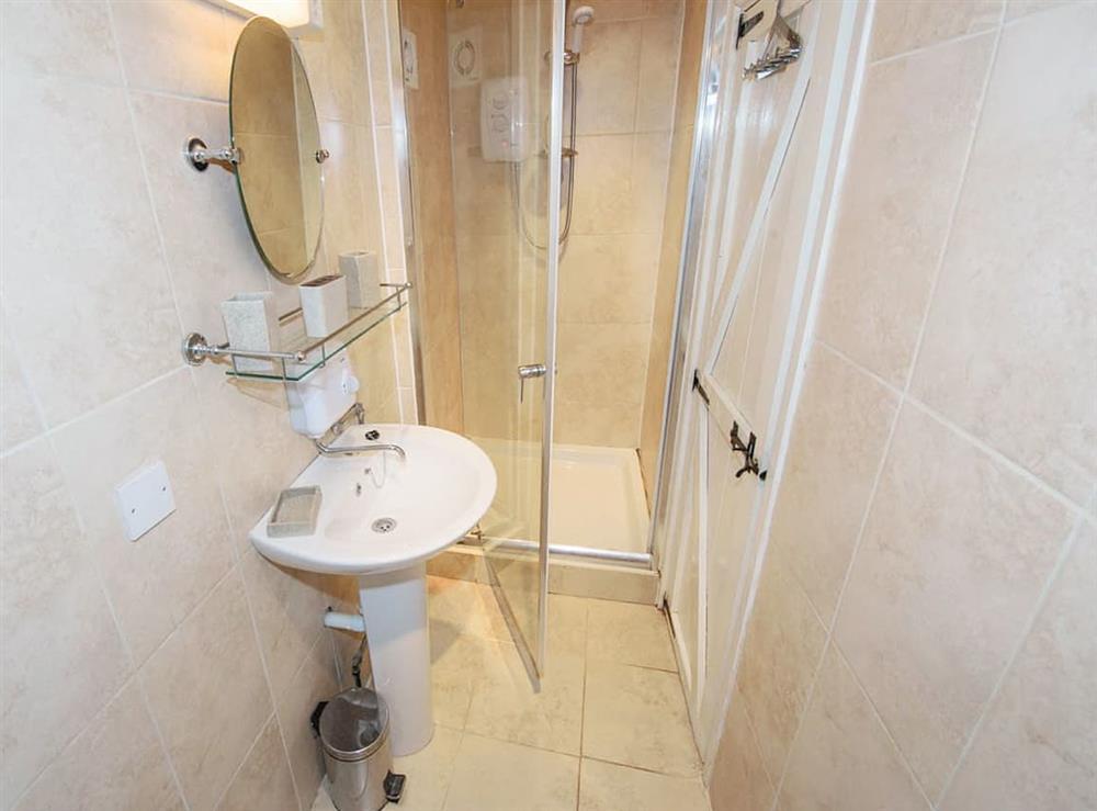 Shower room at Cobble Cottage,
