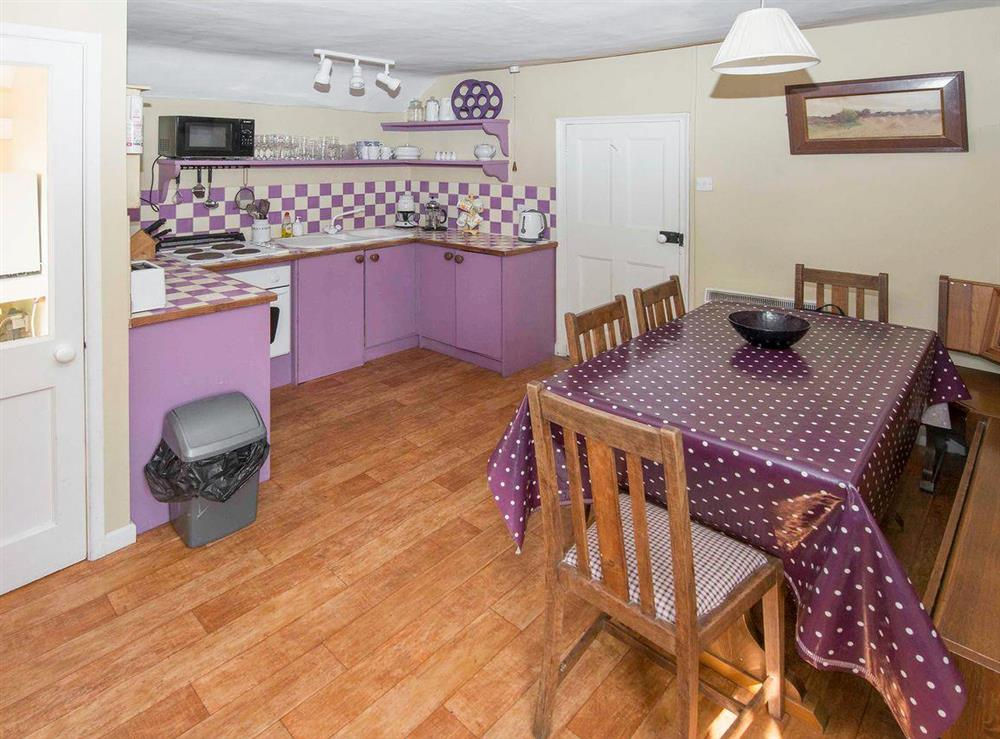 Well presented kitchen/ dining room at The Plover,