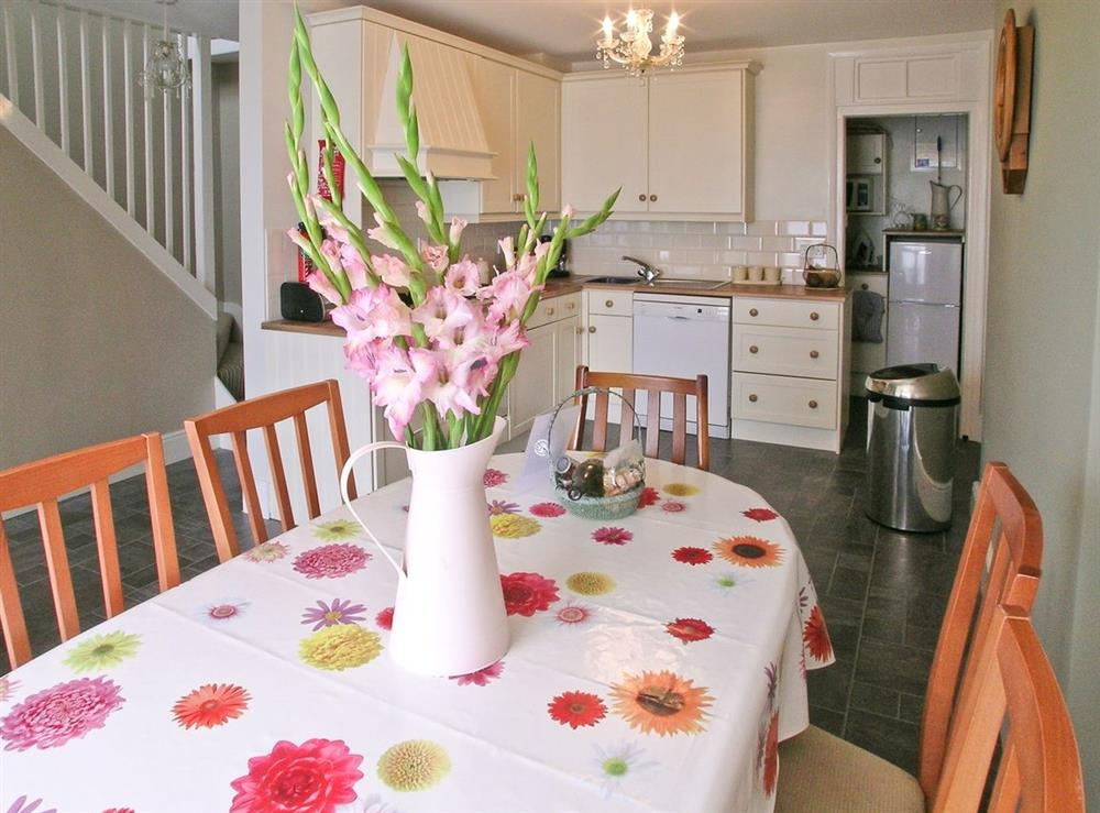 Dining Area at Blue Buoy Cottage in Brixham, Torbay