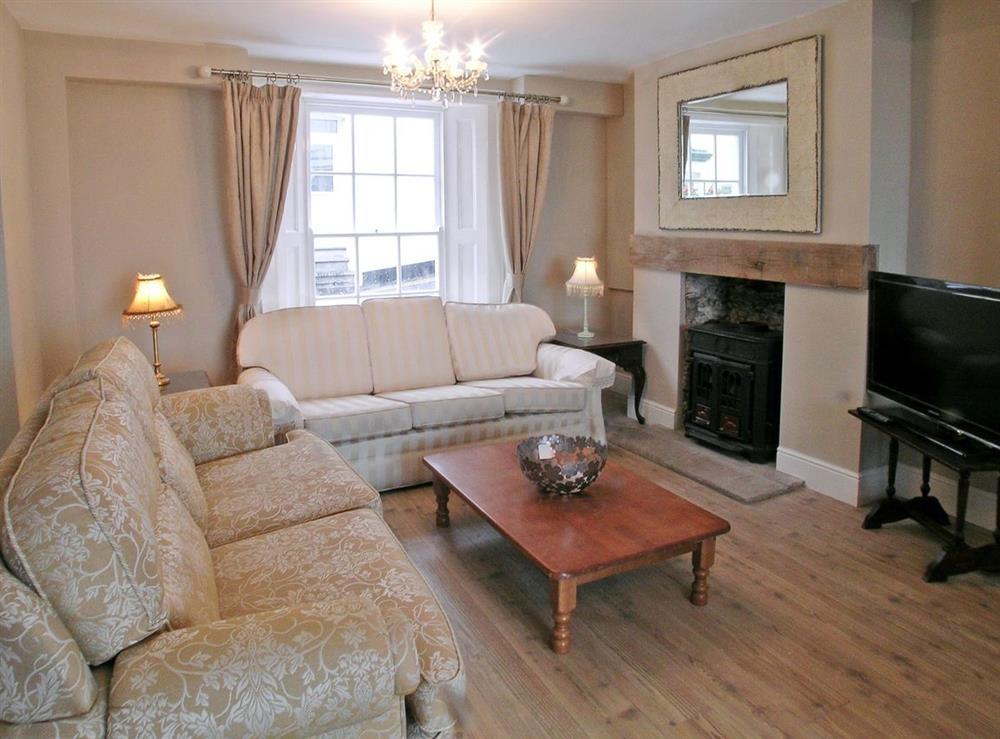 Living room at Blue Buoy Cottage in Brixham, Torbay