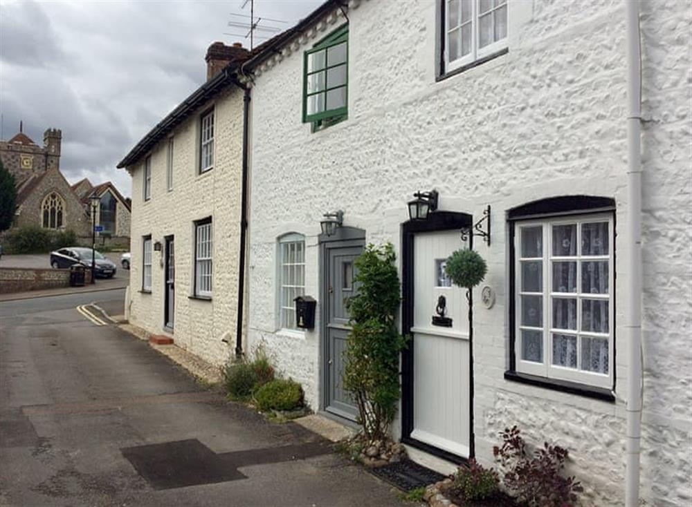 Grade II listed, terraced cottage at Bluebell Cottage in Angmering, near Littlehampton, West Sussex