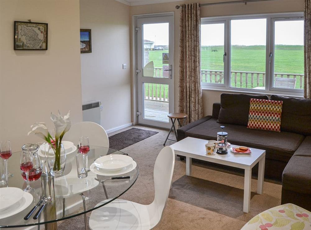 Open plan living space at Boa Vista in Bacton, near Stalham, Norfolk