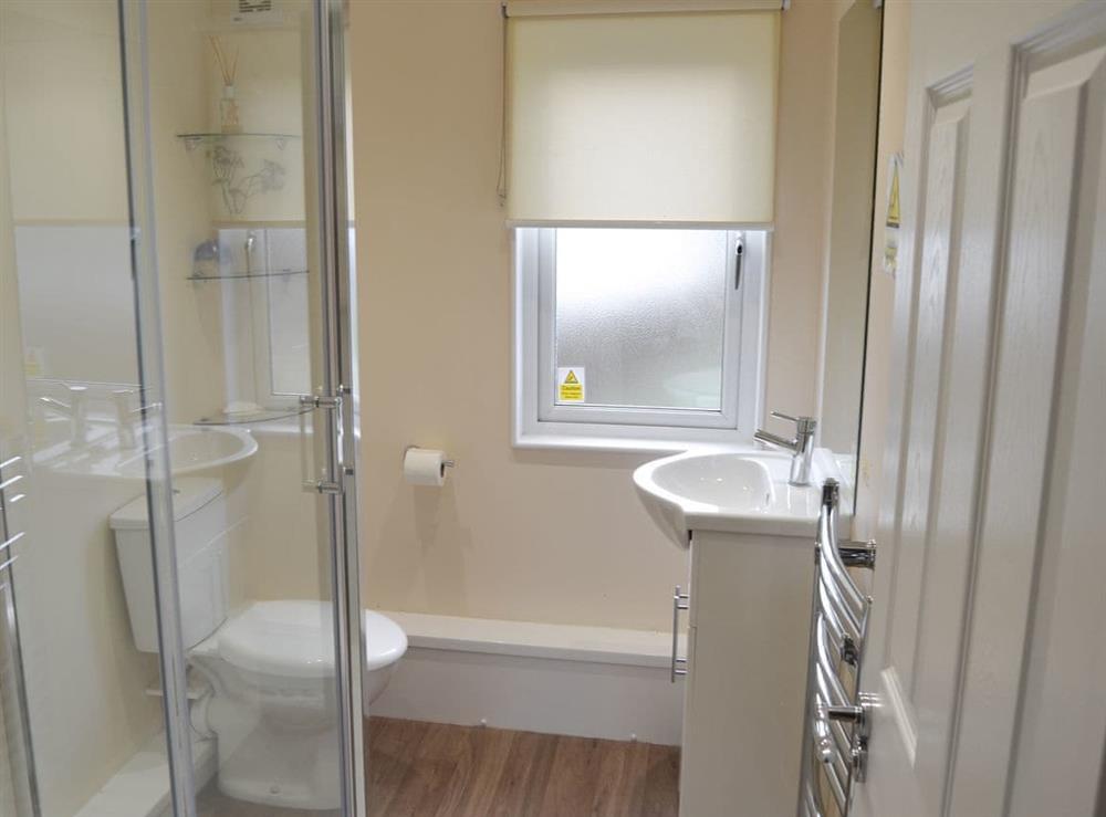 Shower room at Boa Vista in Bacton, near Stalham, Norfolk