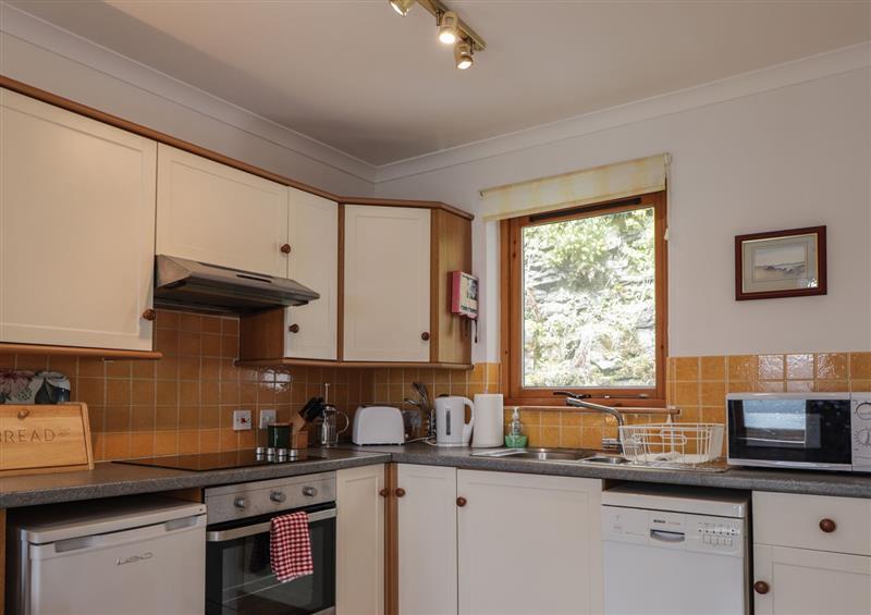 Kitchen at Boatmans Cottage, Balmacara near Kyle Of Lochalsh
