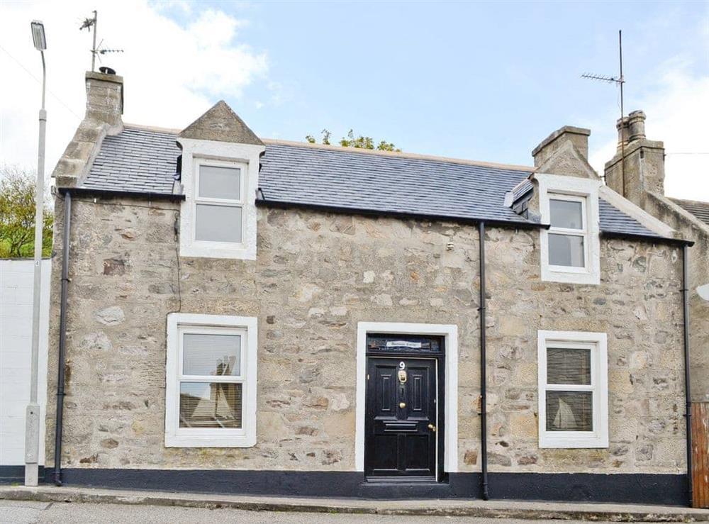 Exterior at Boatmans Cottage in Portessie, near Buckie, Banffshire