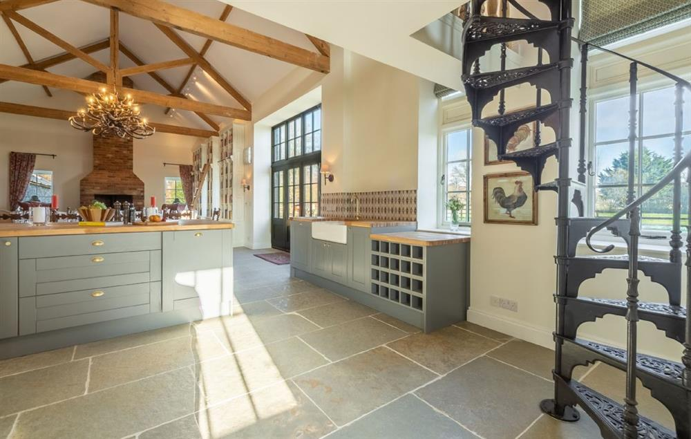 Main Barn Ground Floor: This stunning property has lots of space and light