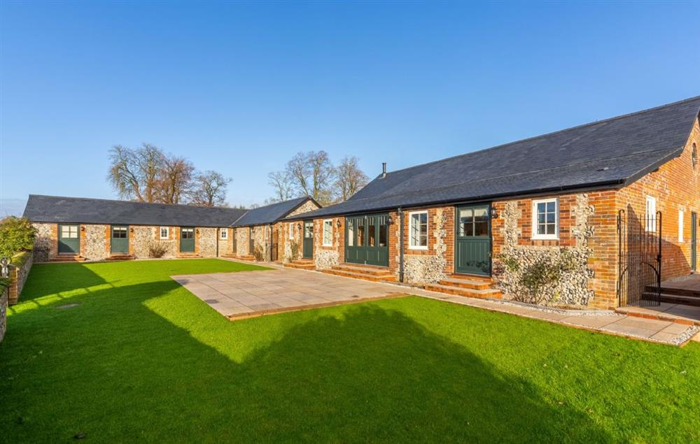 The stable block offers luxury ground floor accommodation for six guests