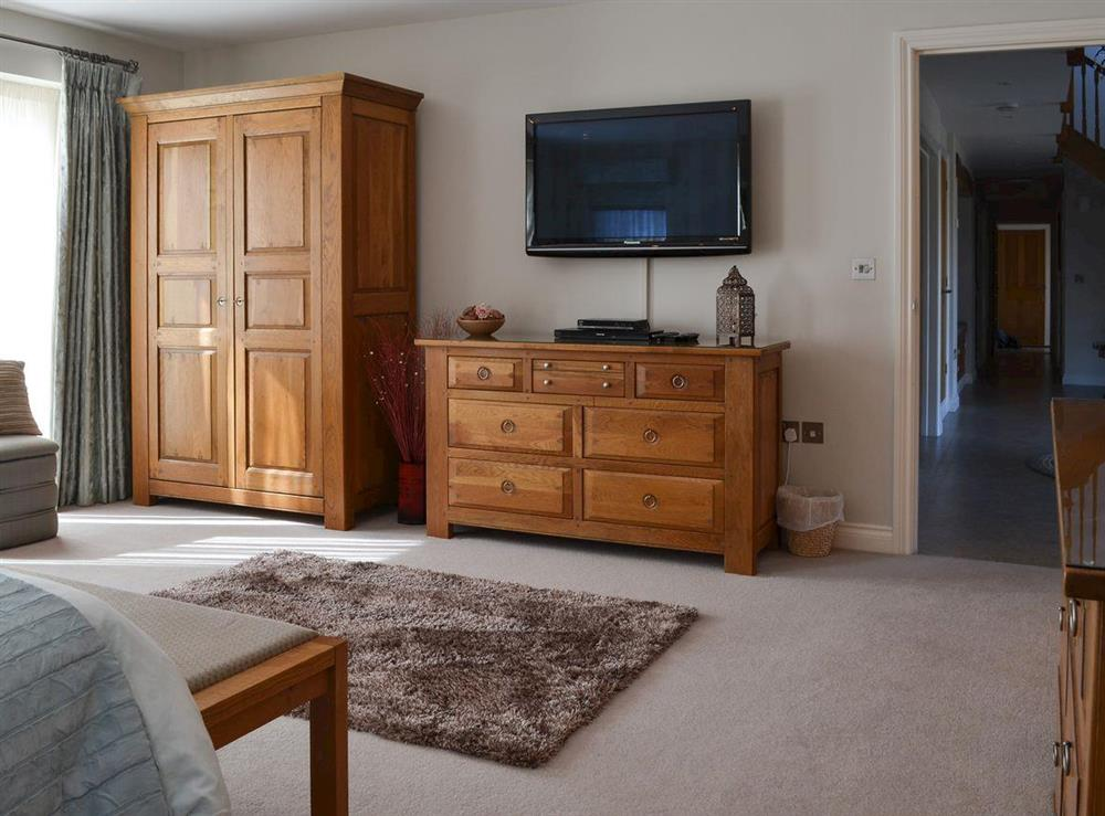 Comfortable double bedroom (photo 2) at Bodrydd,