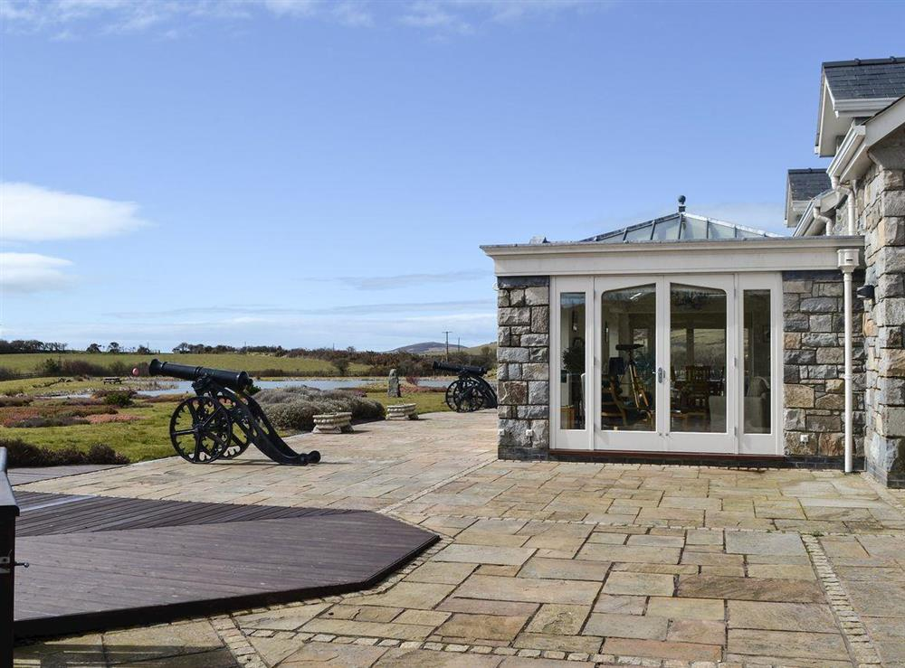 Great outdoor space at Bodrydd,