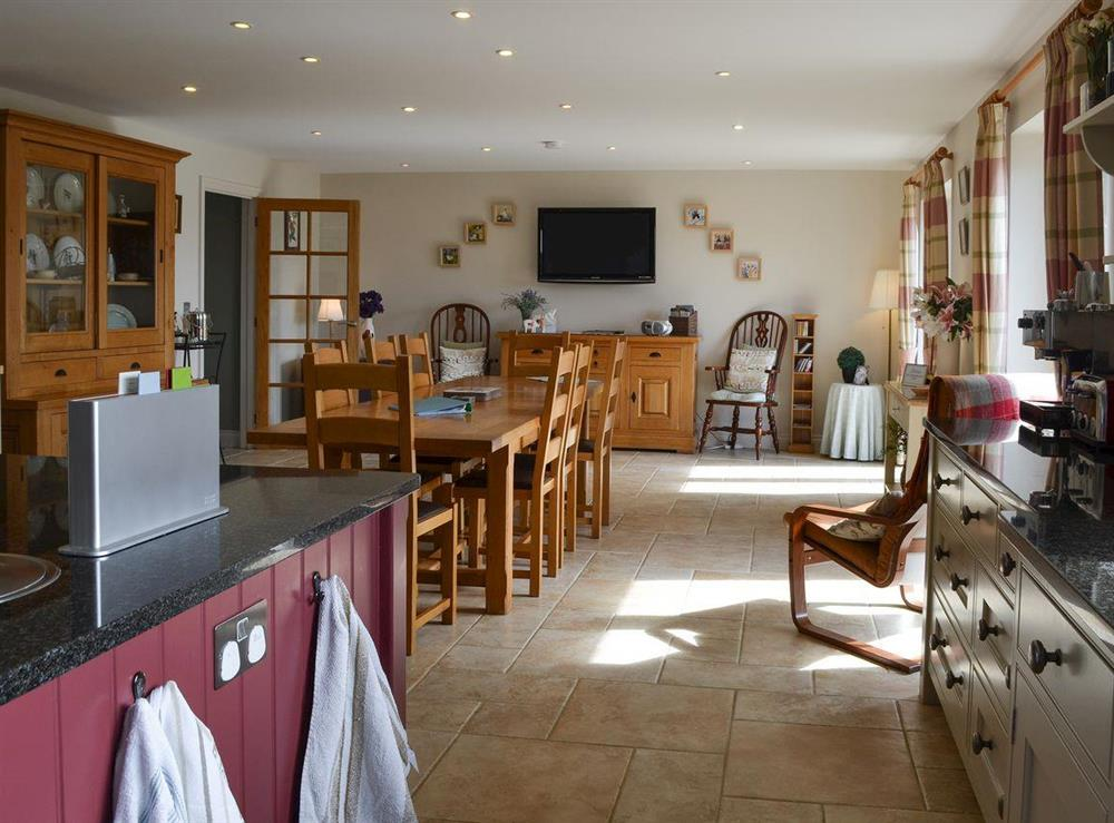 Lovely kitchen / diner at Bodrydd,