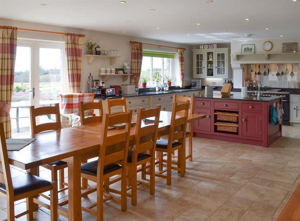 Well appointed kitchen / diner at Bodrydd,