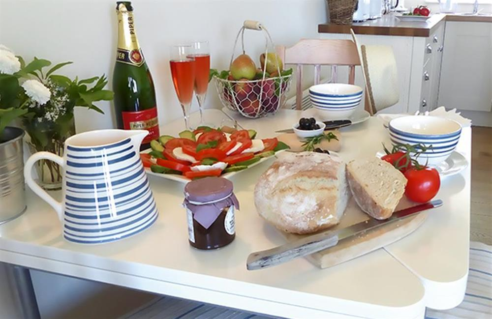 Spoil yourself with some lovely meals prepared in the modern kitchen at Bolthole Cabin, Dartmouth