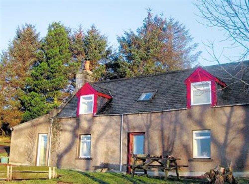 Exterior at Bonny View in Brora, Sutherland, Great Britain