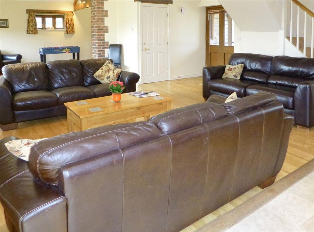 Spacious living room at Crowthorne,