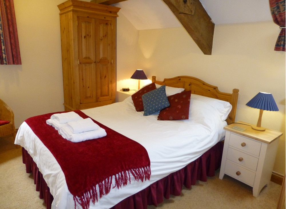 The double bedroom at Little Coombe,