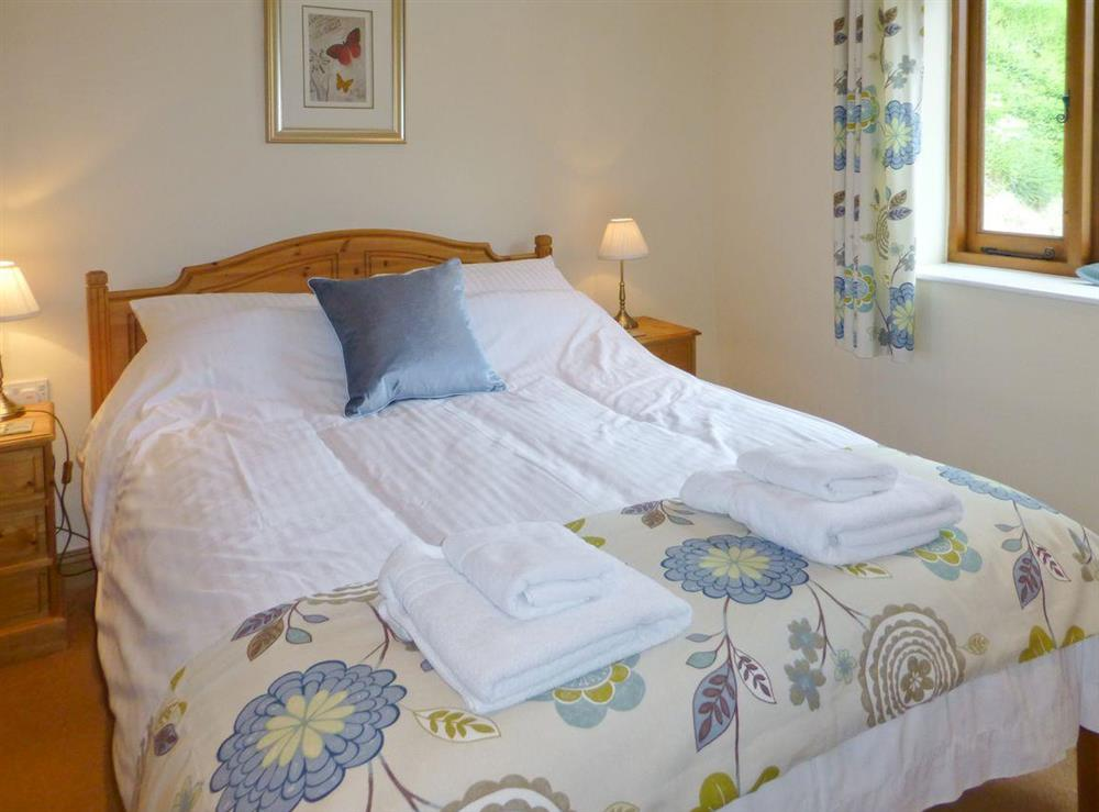 comfortable double bedroom at Wagon House,
