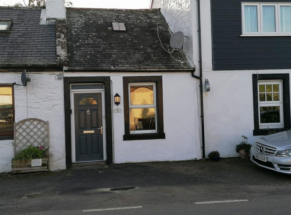 Exterior at Boot Cottage in Kirkinner, near Wigtown, Wigtownshire