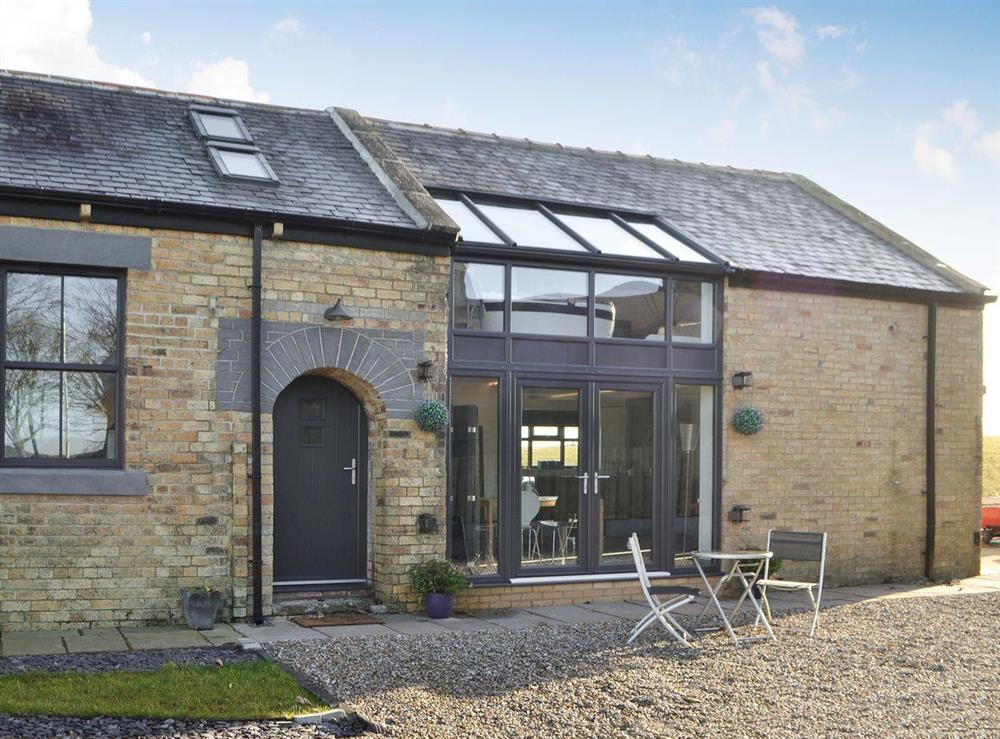 Spacious, contemporary style, semi-detached converted barn at Bothal Barns Drift in Bothal, near Morpeth, Northumberland