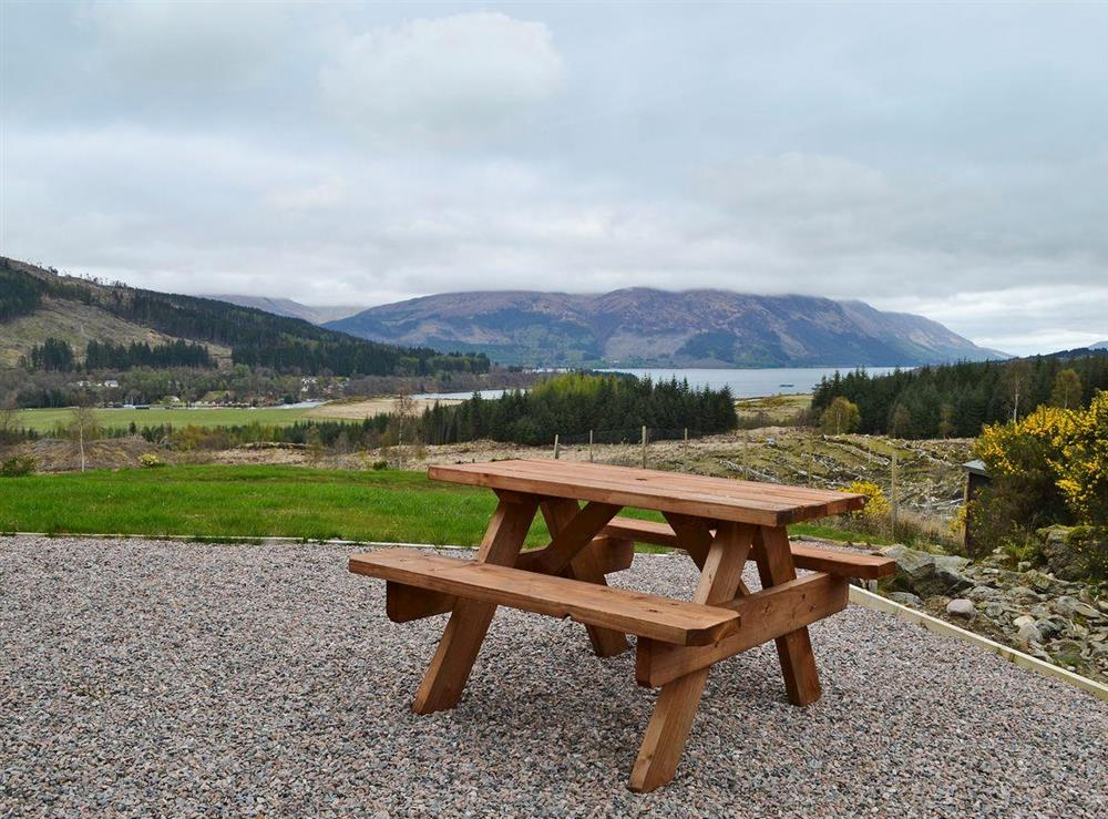 Breathtaking views from property at Brackletter Lodge in Brackletter, near Spean Bridge, Kilmonivaig, Inverness-Shire