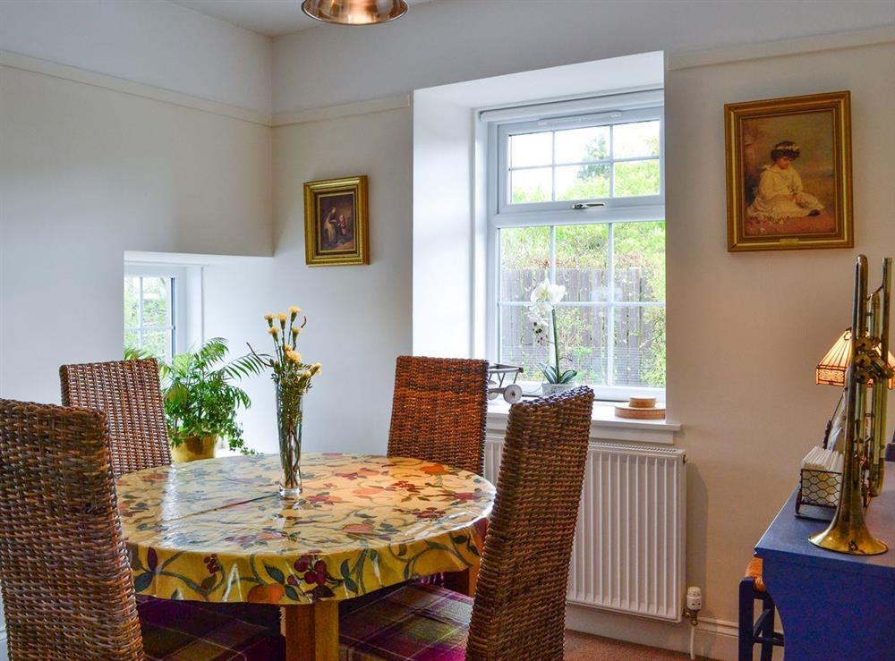 Dining area at Braefoot 1860 in Straiton, near Maybole, Ayrshire