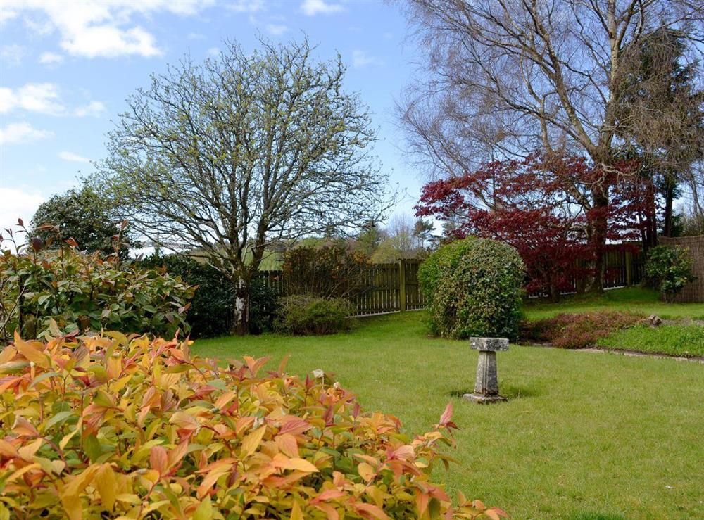 Garden at Braefoot 1860 in Straiton, near Maybole, Ayrshire