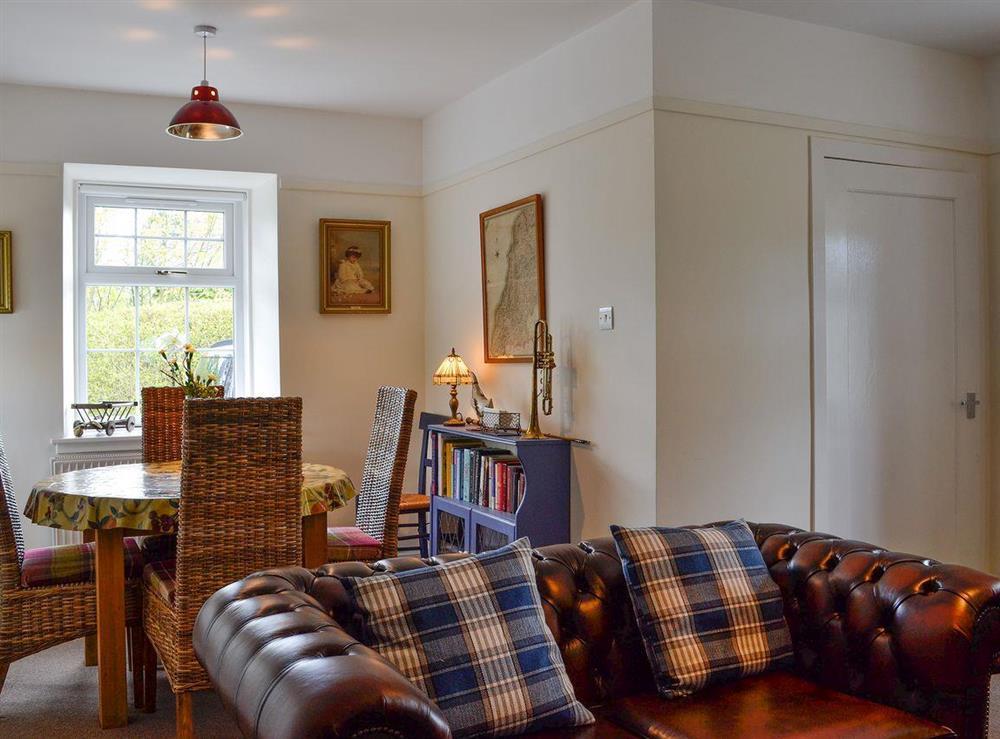 Living room & dining area at Braefoot 1860 in Straiton, near Maybole, Ayrshire