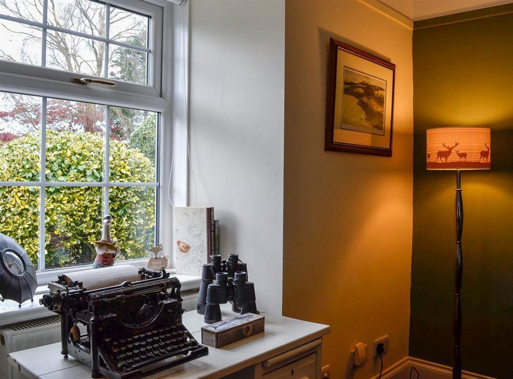 Living room features at Braefoot 1860 in Straiton, near Maybole, Ayrshire