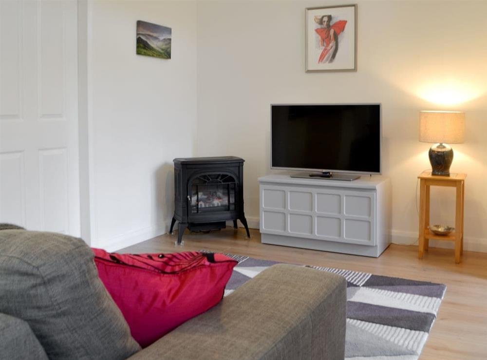 Comfortable living area at Braeroy Studio in Roybridge, near Spean Bridge, Inverness-Shire