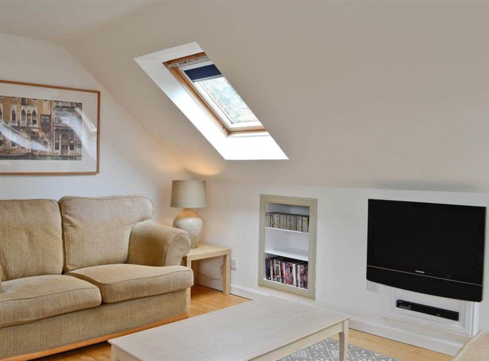 Open plan living/dining room/kitchen at Braeval Cottage in Gartmore, Stirlingshire