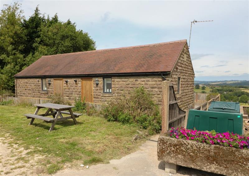 The setting at Bramble Cottage, Alderwasley