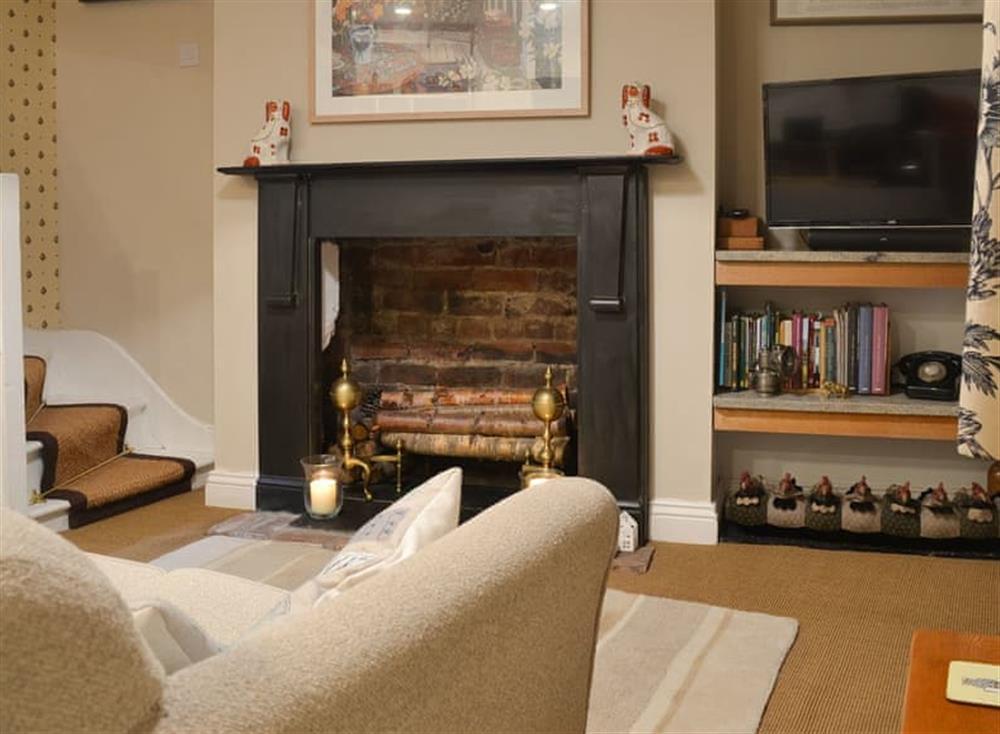 Welcoming living area at Bramble Cottage in Horrabridge, near Tavistock, Devon